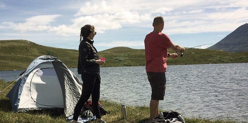 sykling på Hardangervidda2